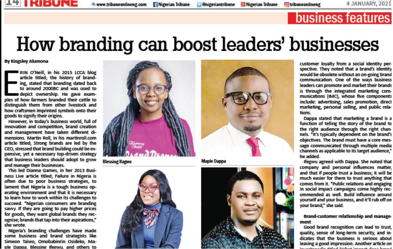 Leadership and Business Branding